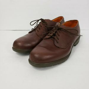 Timberland Mens sz 8 Brown Leather Oxfords Shoes